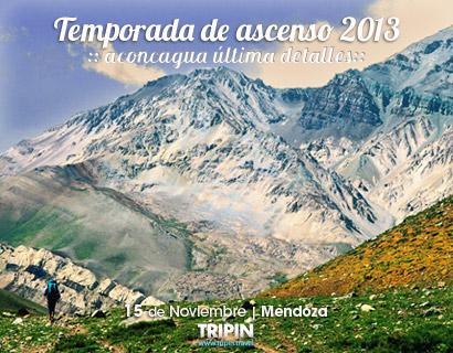 Temporada de ascenso 2013 al Aconcagua