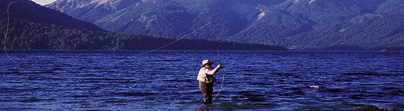 Temporada de pesca en la Patagonia