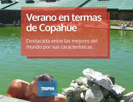 Termas de Copahue, desde el 5 de noviembre hasta el 3 de Abril