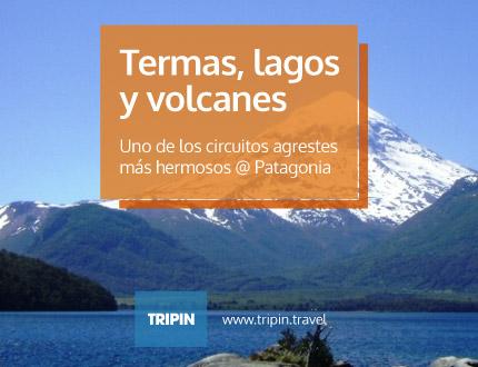 Termas, Lagos y Volcanes en la Patagonia Argentina. Junin de los Andes y unos de los circuitos agrestes más impactantes