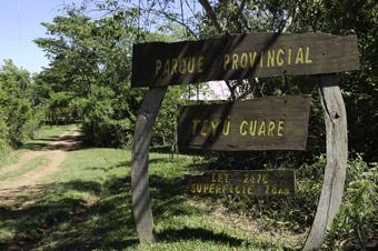 Parque Provincial Teyú Cuaré en Misiones