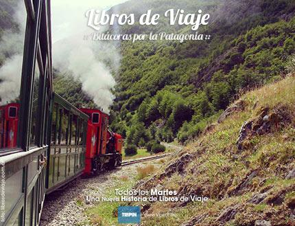 Libros de viaje en el tren del fin del mundo en Ushuaia