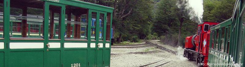 El tren del fin del mundo en Ushuaia por libros de viaje!