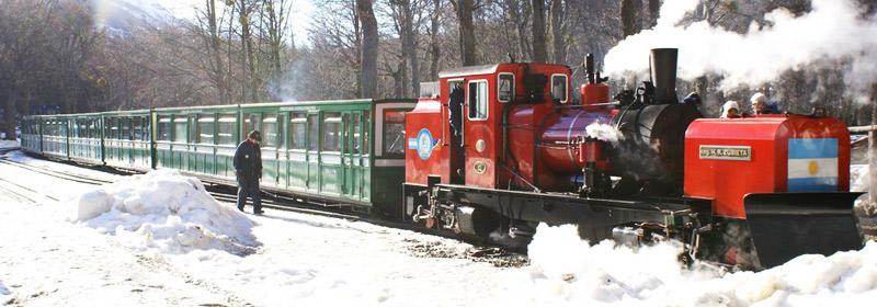 El imperdible tren del fin del mundo en Ushuaia