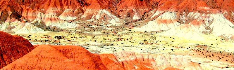 Los mil colores del Valle de la Luna, en Jujuy