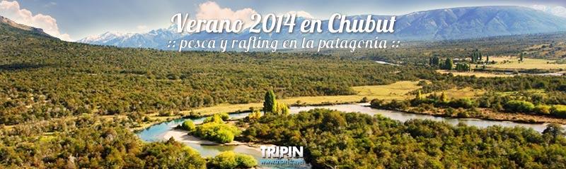 Verano 2014 en Chubut, Patagonia Argentina, a puro pesca y rafting