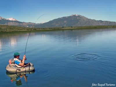 La pesca deportiva en Esquel entre un contexto natural inigualable