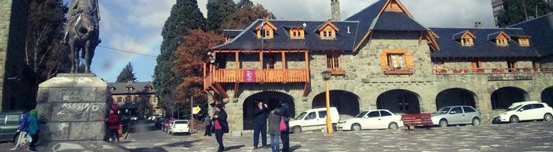 El centro civico de Bariloche!