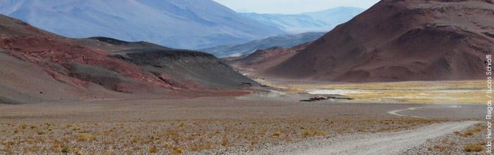 Los paisajes del camino a Antofalla en un viaje por catarmaca de Henar Riegas