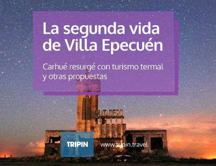 Villa Epecuén, Cahué resurge con turismo termal y otras propuestas