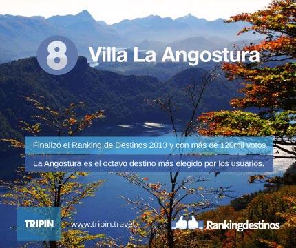 Villa La Angostura en pleno Verano 2014. Conocé al octavo destino más votado del ranking 2013.