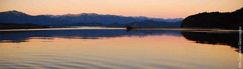 El magnifico paisaje de Villa La Angosura, el paraiso de la patagonia