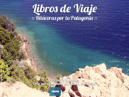 Libros de Viaje en la aldea de montaña de Villa Traful, como salida de un sueño...