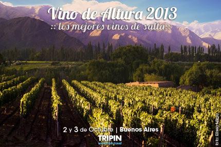 Salon vino de Altura 2013 en Buenos Aires