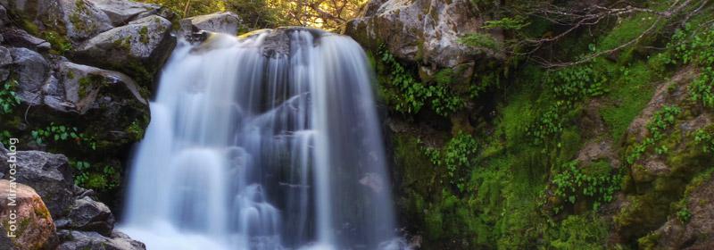 Cascada Inacayal, Villa La Angostura