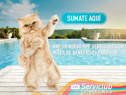 Ypf Serviclub, miles de beneficios para viajeros!