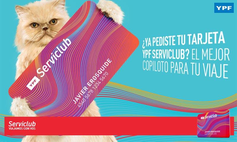 YPF Serviclub sumo a Via Bariloche a su club de beneficios