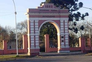 Arco de la Antigua Sociedad Rural de la ciudad de Ayacucho