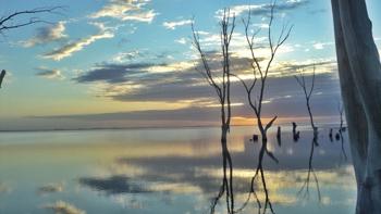 Lago Epecuén, Carhue