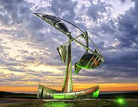 Escultura de Pinamar