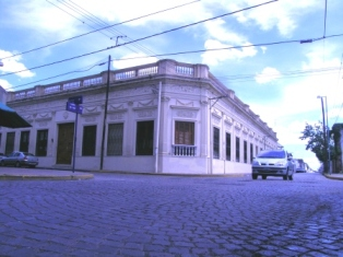 edificio de la antigua escuela normal