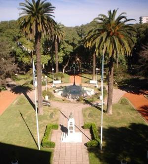 Fuente de la Plaza Constitución