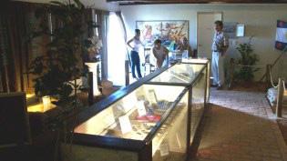 Interior de la sala museo