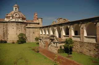 Patio del Museo del Virrey de Alta Gracia