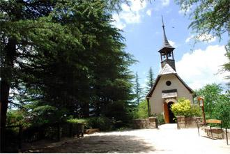 La capilla de La Cumbrecita