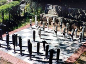 Plaza de Ajedrez de La Cumbrecita