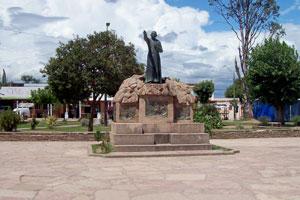 Monumento al Cura Brochero en Villa Cura Brochero