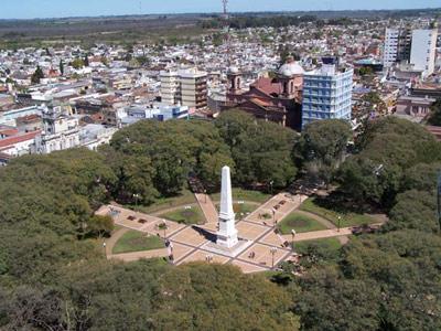 Vista Aera de Concepción del Uruguay