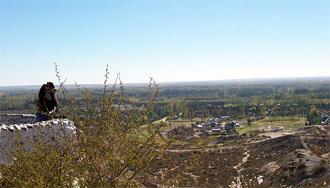 El balcon del valle de la ciudad de Neuquen