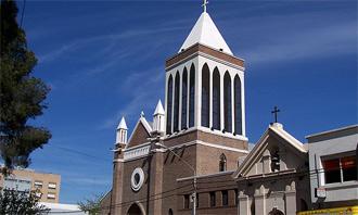 Catedral María Auxiliadora de la ciudad de Neuquen
