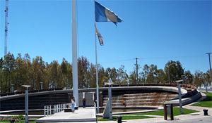 Plaza centenario de la ciudad de Neuquen