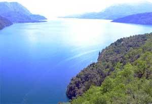 Vista del Lago Lacar
