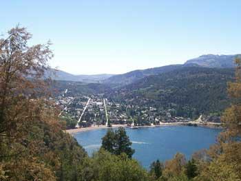 Vista Panoramica de San Martin de los Andes