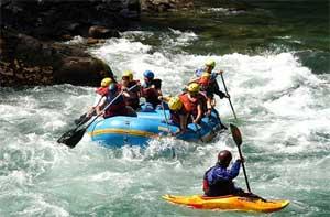 Rafting en Rio Aluminé