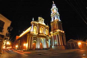 Catedral basílica de la ciudad de Salta