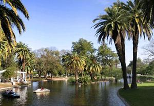 Parque Garay de la ciudad de Santa Fe