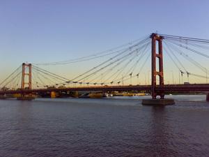 Puente Colgante de la ciudad de Santa Fe