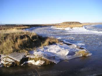 Río Grande en Invierno