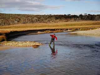 Pesca en el Río Ewan