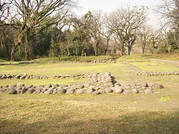 Base de las paredes del Cabildo